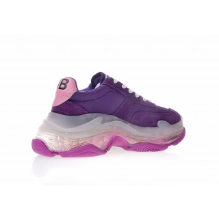 Balenciaga Wmns Triple S Trainer 'Purple Clear Sole' (36-41)
