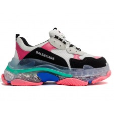 Balenciaga Wmns Triple S Trainer 'Black Pink Clear Sole' (36-41)