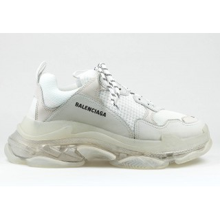 Balenciaga Wmns Triple S 'White Clear Sole' (36-41)