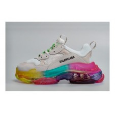 Balenciaga Triple S White Rainbow