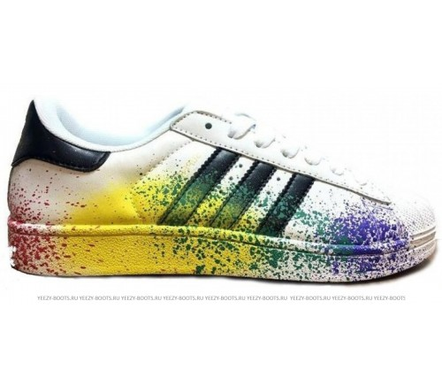 Adidas Superstar Supercolor White