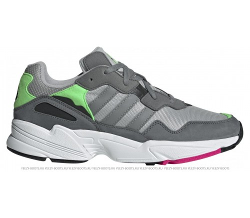 Adidas Yung-96 Grey/Light Green