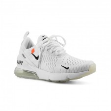 OFF WHITE X NIKE AIR MAX 270 белые