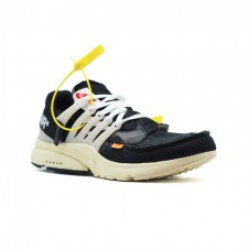 Мужские Nike air presto x off white черные