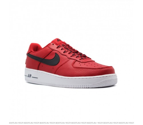 Nike Air Force 1 NBA красные