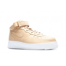 NIKE AIR FORCE 1 MID '07 бежевые
