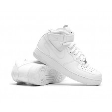 Nike Air Force 1 Mid '07 белые