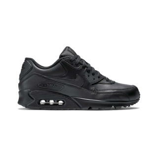 NIKE AIR MAX 90 LEATHER черные